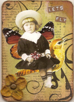 ATC Let\'s Fly by Maria Adams